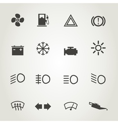 Devices an icon vector
