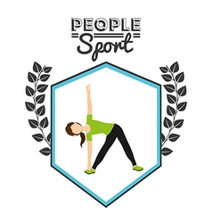 People sport vector