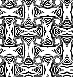 Black and white striped pin wheel vector