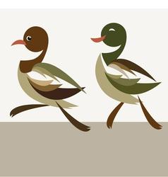 Duckling vector image