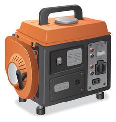 Home power generator vector