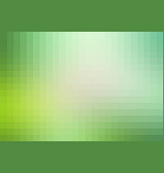 Light green shades mosaic square tiles background vector