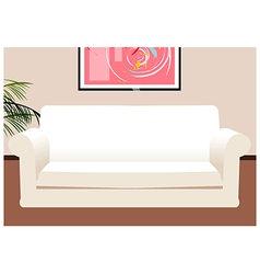 Lounge coach background vector