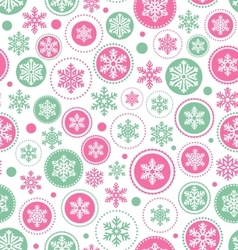 Seamless abstract christmas pattern with vector