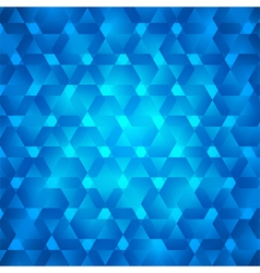 Shards ice blue abstract background vector