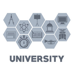 university round icons vector image vector image