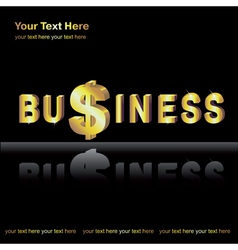 Business background vector