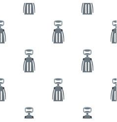 metal corkscrew pattern flat vector image