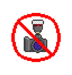 No photography sign vector
