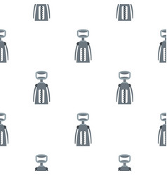 Metal corkscrew pattern flat vector
