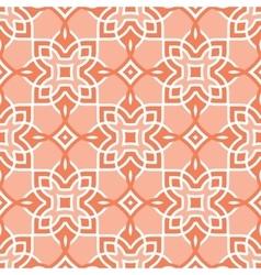 Peach seamless pattern arabic vector image