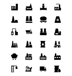 Industrial Icons 1 vector image