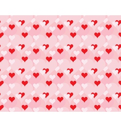 pattern for Day of Valentine vector image