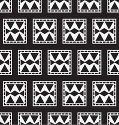 seamless pattern of geometric squares vector image vector image
