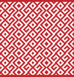 slavic ornament seamless pattern vector image vector image