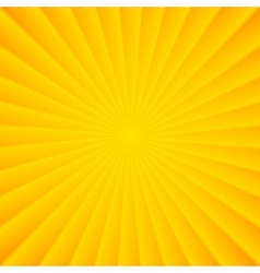Yellow rays carnival background vector image