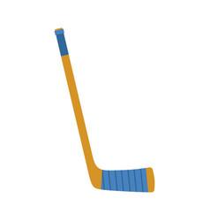 Hockey stick isolated accessory ice hockey on vector