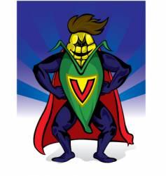 supercorn vector image