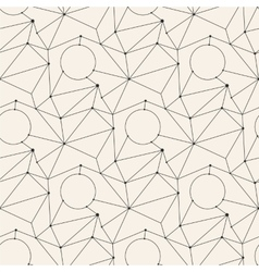 Seamless line abstract pattern tile background vector