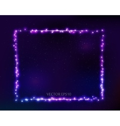 Constellation frame in space vector