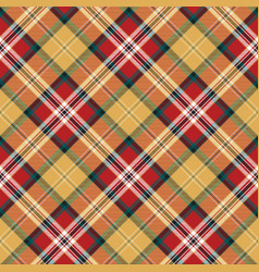 Color plaid seamless pattern vector