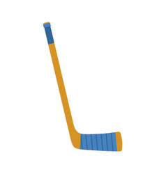 hockey stick isolated accessory ice hockey on vector image vector image