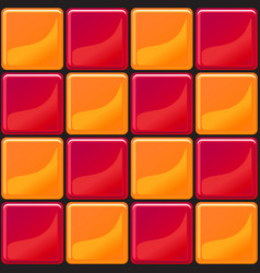 Orange and red tiles texture seamless vector