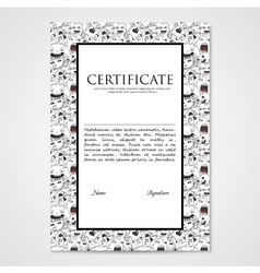 Graphic design template document with abstract vector