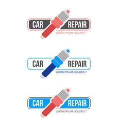 car repaire service vector image