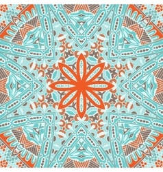 Abstract seamless geometric winter pattern vector