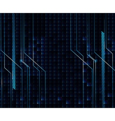 Background design with blue and black theme vector