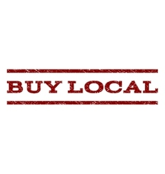 Buy Local Watermark Stamp vector image vector image