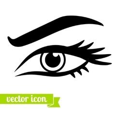 Eye icon 3 vector image vector image