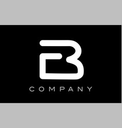 Letter b alphabet logo icon template design vector