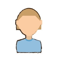 People commoner man icon image vector