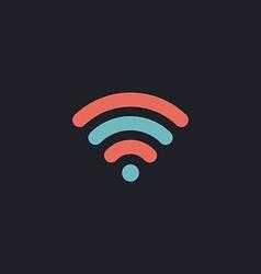 wireless zone computer symbol vector image