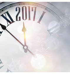 2017 New Year background vector image