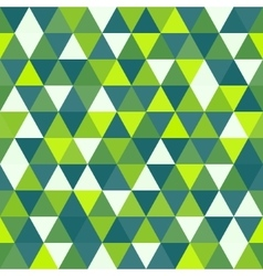 Seamless geometric triangles background mosaic vector