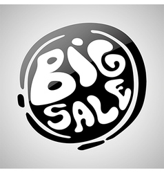 Big sale badge vector