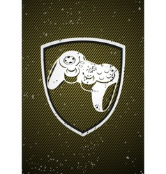 Game badge vector