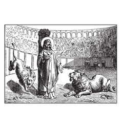 Ignatius of antioch is martyred by being fed to vector