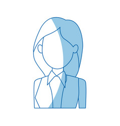 Female political candidate election character vector