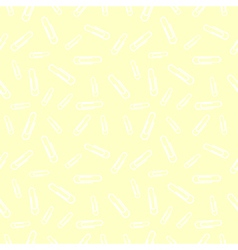 Seamless pastel pattern with white clips vector