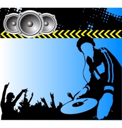 club dj vector image
