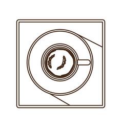 coffee espresso icon image vector image