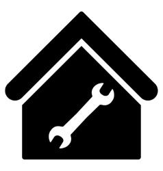Repair building flat icon vector