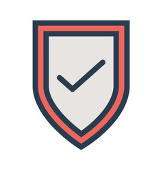 Security shield protect seo web secure vector