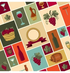 For wine wineries and restaurants vector