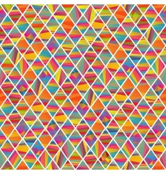 Seamles pattern with colorfull rhombus vector