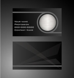 Excursion - business card vector